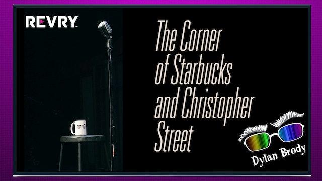 The Corner of Starbucks and Christopher Street