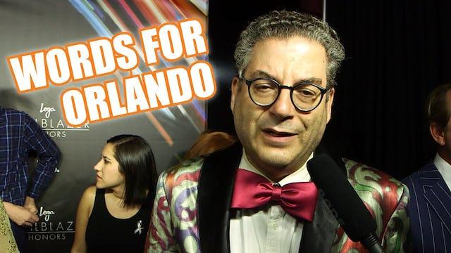 """LOGO Trailblazers: Words For Orlando"""
