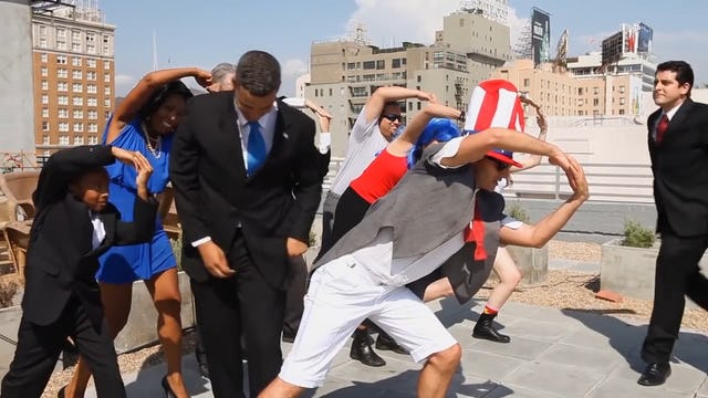 """Obama Style (Psy Gangnam Style Parody) Feat. Smooth-E and Alphacat 강남스타일"""