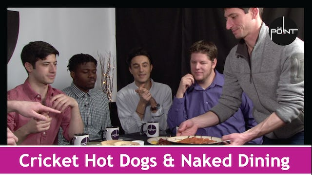 """Cricket Hot Dogs & Naked Dining"""