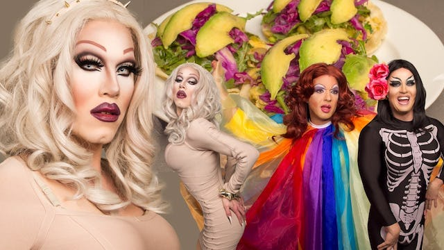 Cooking With Drag Queens - Sharon Needles - Asian Breakfast Tacos