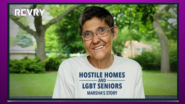 Marsha's Story | Hostile Homes and LGBT Seniors