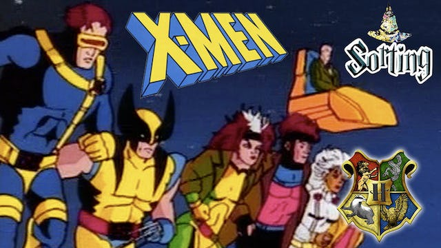 """Sorting The 90s X-Men Cartoon"""