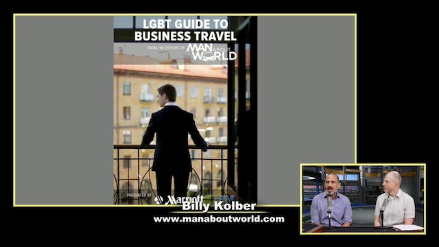 """""""Billy Kolber from Man About World"""""""
