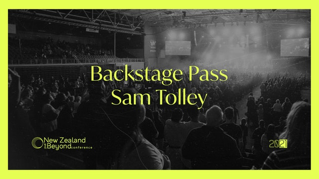 Backstage: Sam Tolley