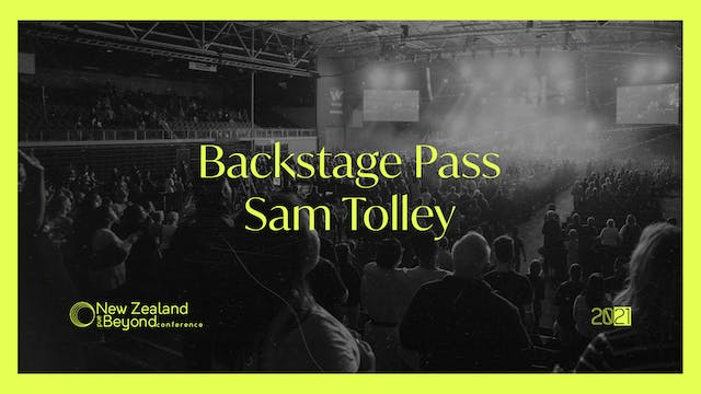 Backstage: Sam Tolley