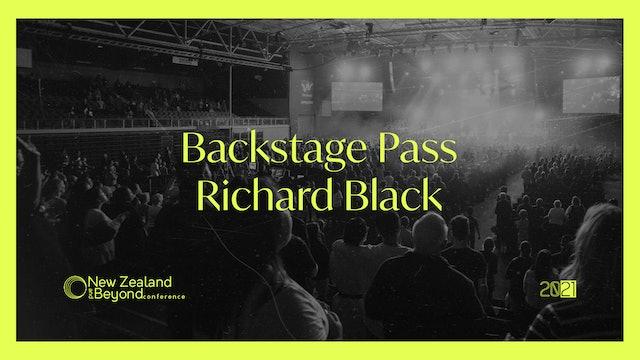 Backstage: Richard Black