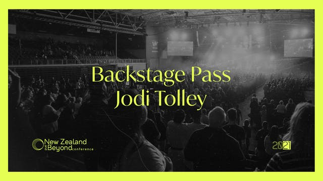 Backstage: Jodi Tolley