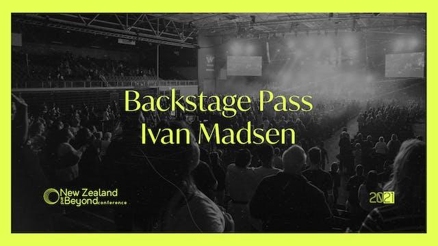 Backstage: Ivan Madsen