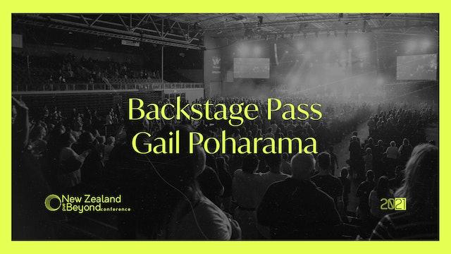 Backstage: Gail Poharama
