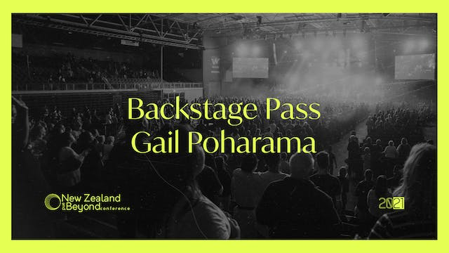 Backstage: Gail Poharama