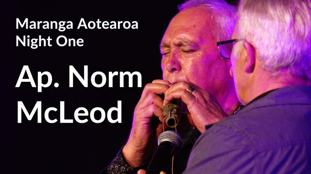 NIGHT ONE: Ap. Norm McLeod