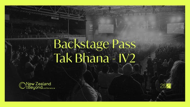Backstage: Tak Bhana iv2