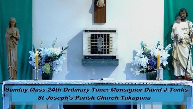 Sunday Mass - 12 September 2021