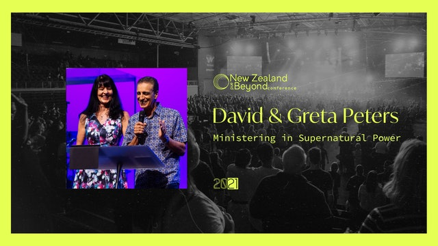 SESSION FOUR - David & Greta Peters