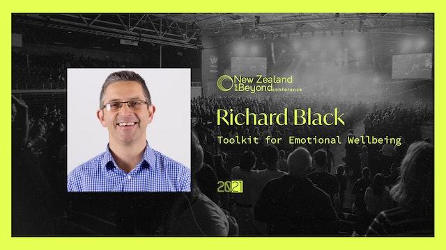 SESSION NINE - Richard Black