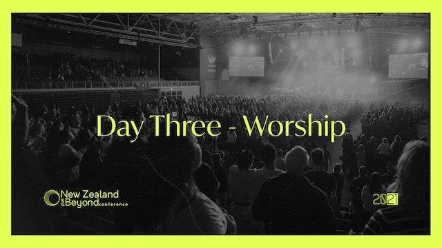 DAY THREE - Worship