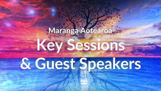 Key Sessions & Guest Speakers - Maranga Aotearoa