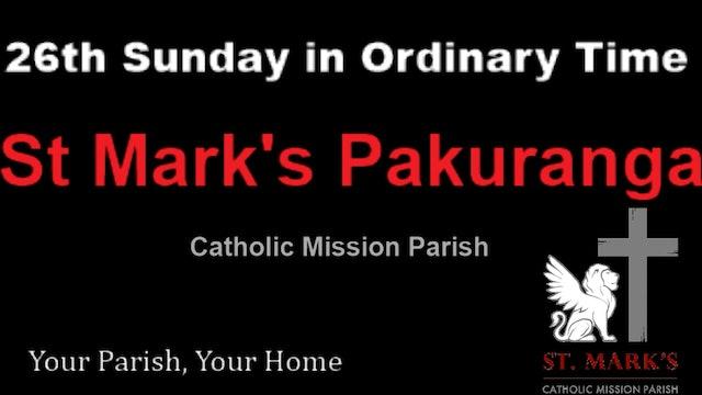 Sunday Mass - 26 September 2021