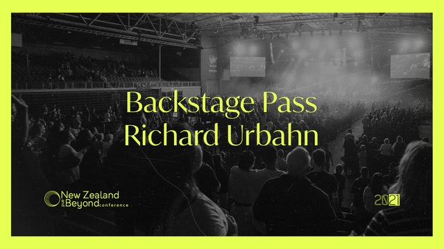 Backstage: Richard Urbahn