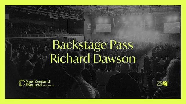 Backstage: Richard Dawson