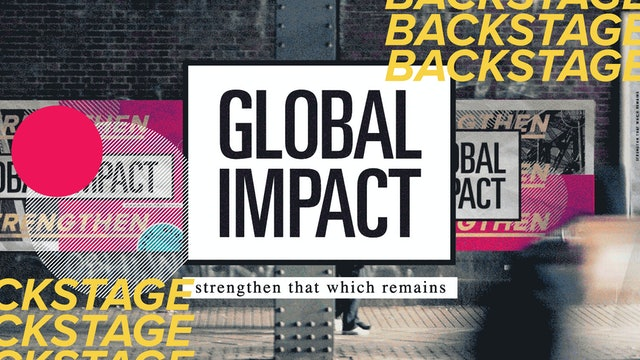 BACKSTAGE PASS - Global Impact
