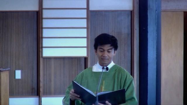 Sunday Mass - 19 September 2021