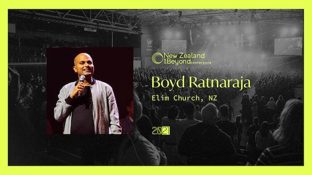 SESSION TEN - Boyd Ratnaraja