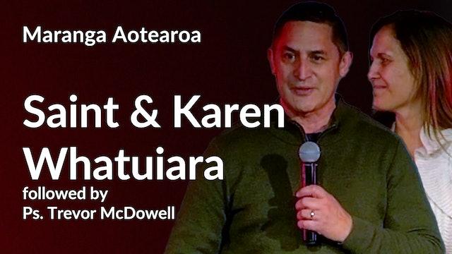 6. Saint & Karen Whatuira, Ps Trevor McDowell