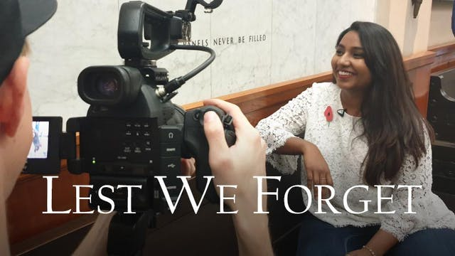 Lest We Forget - Auckland War Memorial