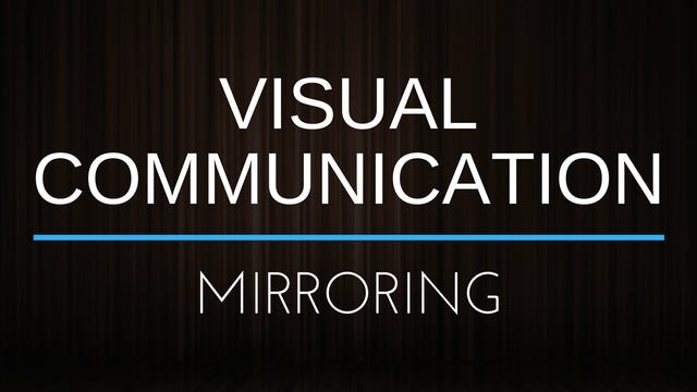 Visual Communication - Mirroring