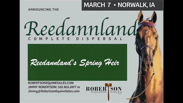 Reedannland's Spring Heir