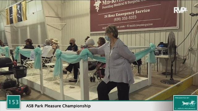 2020 BS - Class 153 ASB Park Pleasure Championship Championship