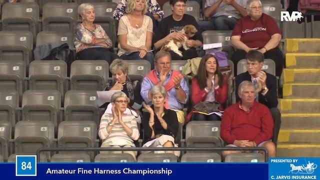 BB16 - Fine Harness Amateur Championship