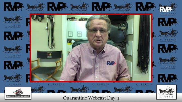 Quarantine Webcast - April 9 - Day 4