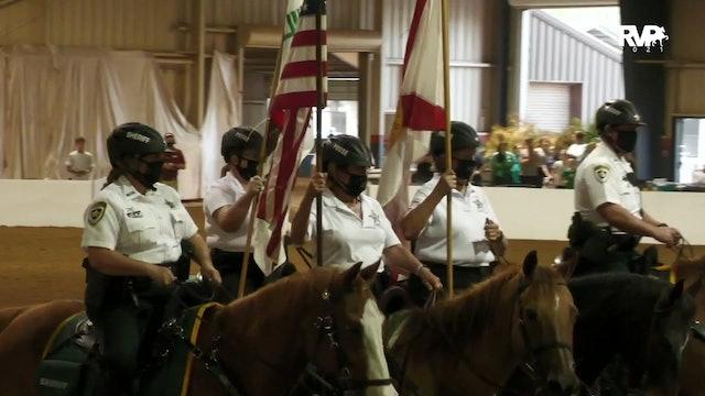GASP21 - Saturday Evening National  Anthem & Hillsborough County Sheriff's Office Posse  Presentation