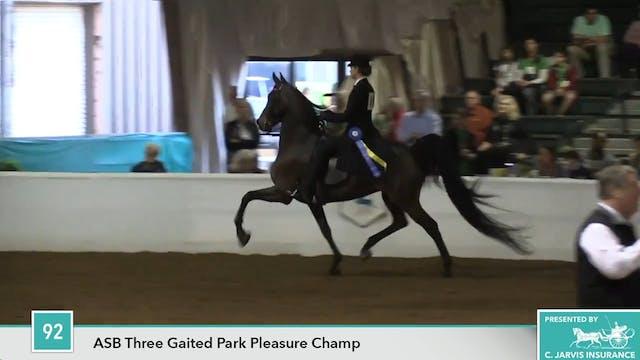GASP17 - Diane's Charm - Championship