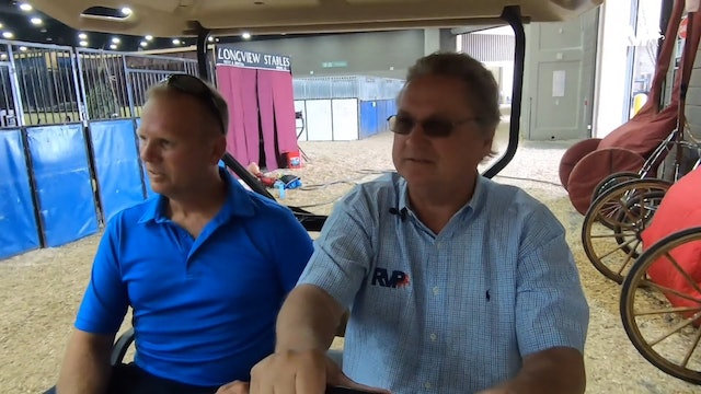 WCHS18 Trainers on Golf Carts - Darrell Case