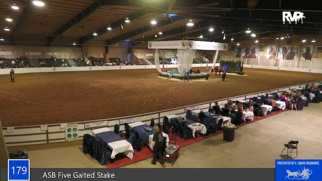 GASP21 - Class 179 - ASB Five Gaited Stake