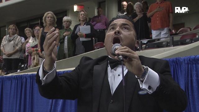 WCHS19 - Thursday Evening National Anthem