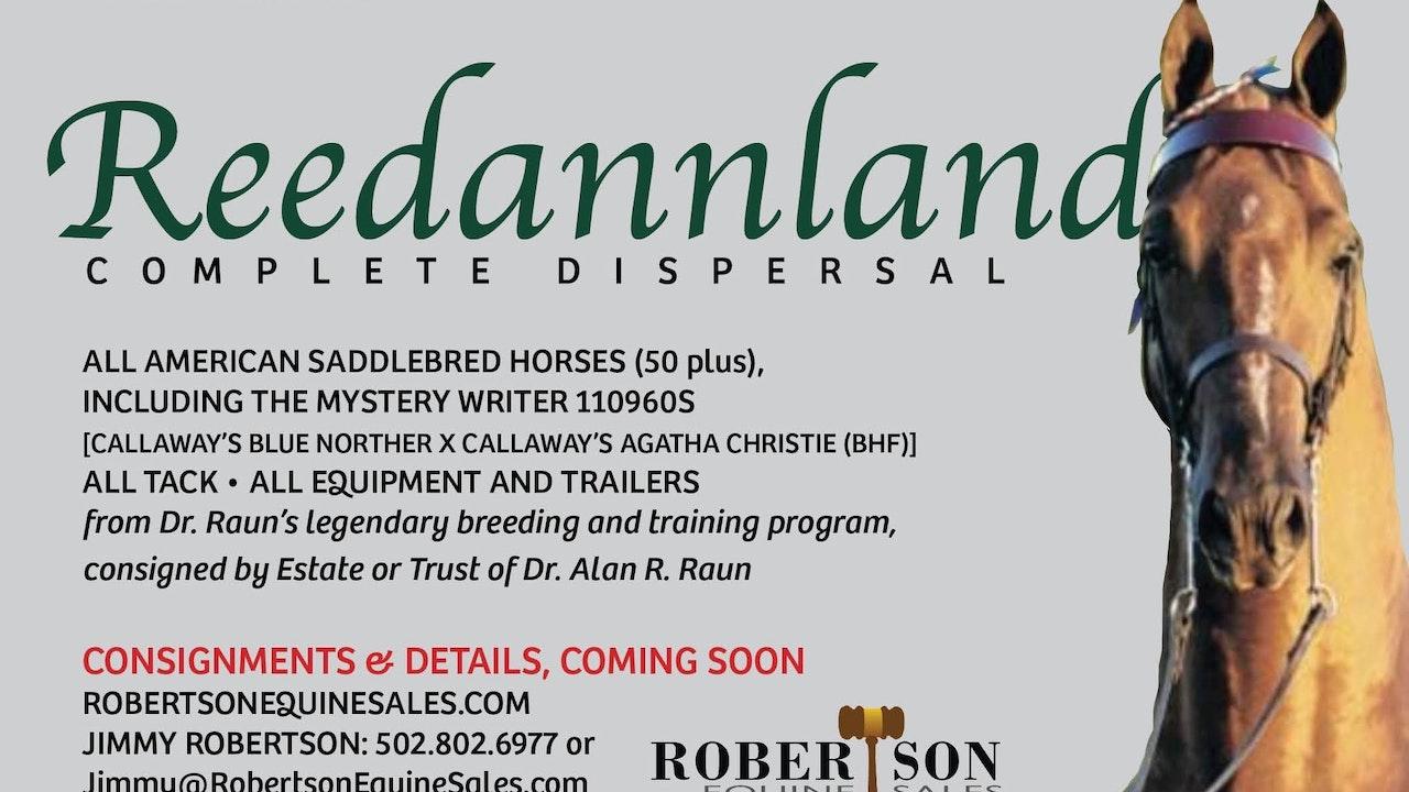 2020 Reedannland Complete Dispersal