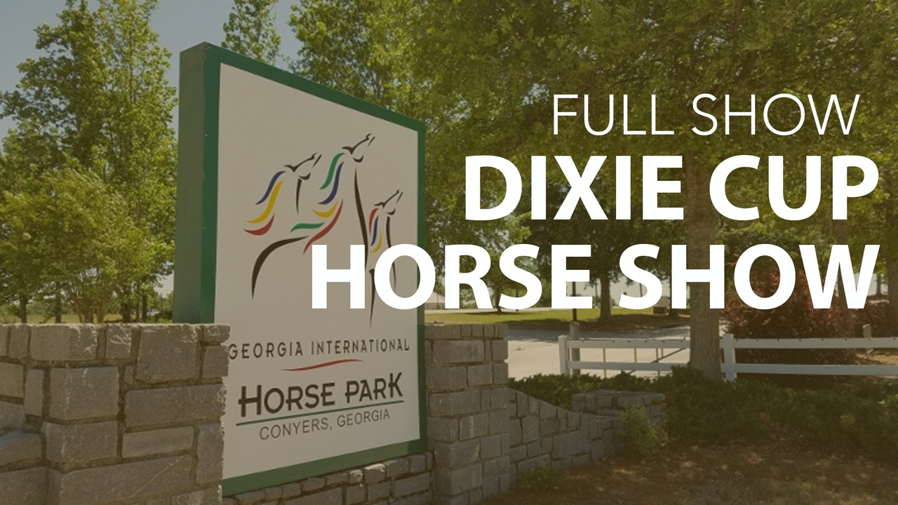 Dixie Cup Horse Show