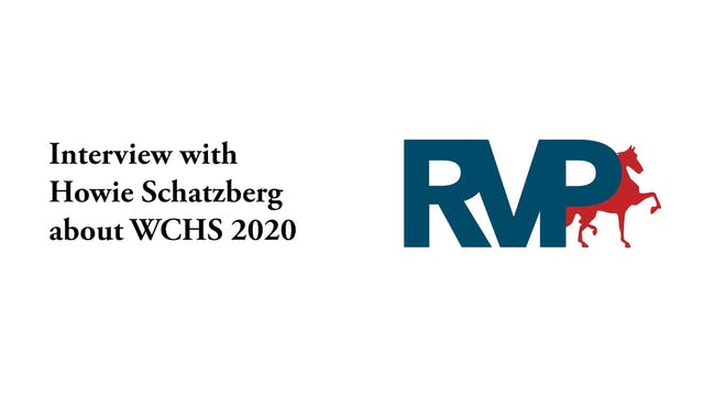 Howie Schatzberg Interview - WCHS 2020