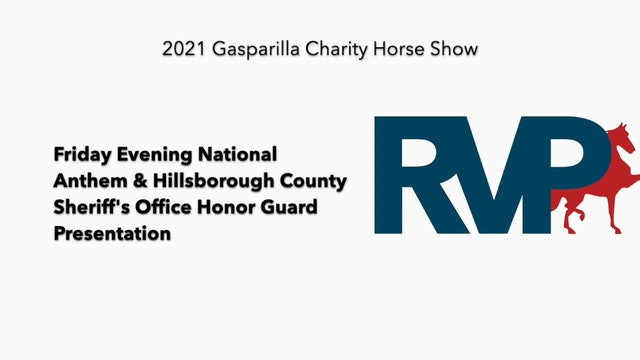 GASP21 - Friday Evening National Anthem & Hillsborough County Sheriff's Office Honor Guard  Presentation