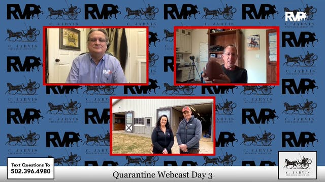 Quarantine Webcast - April 8 - Day 3