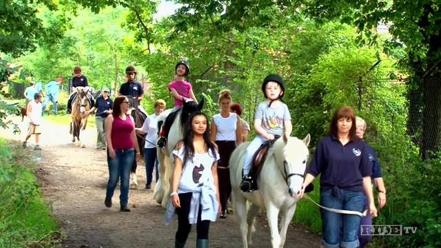 Equestrian World Shorts- Riding for the Disabled Association