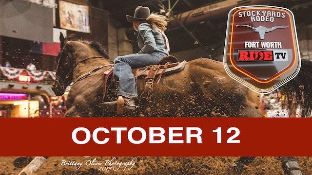 Stockyards Rodeo October 12, 2019