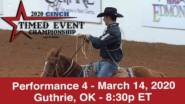 2020 Cinch Timed Event - Performance 4