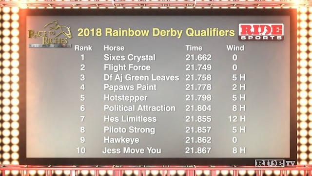 2018 Rainbow Derby Finals