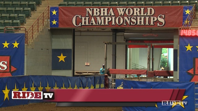 Open 1st Go - 2019 NBHA World Championships Open